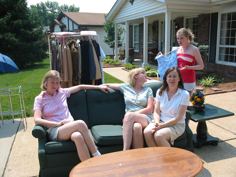 Garage Sale at 226<br /> June 2007