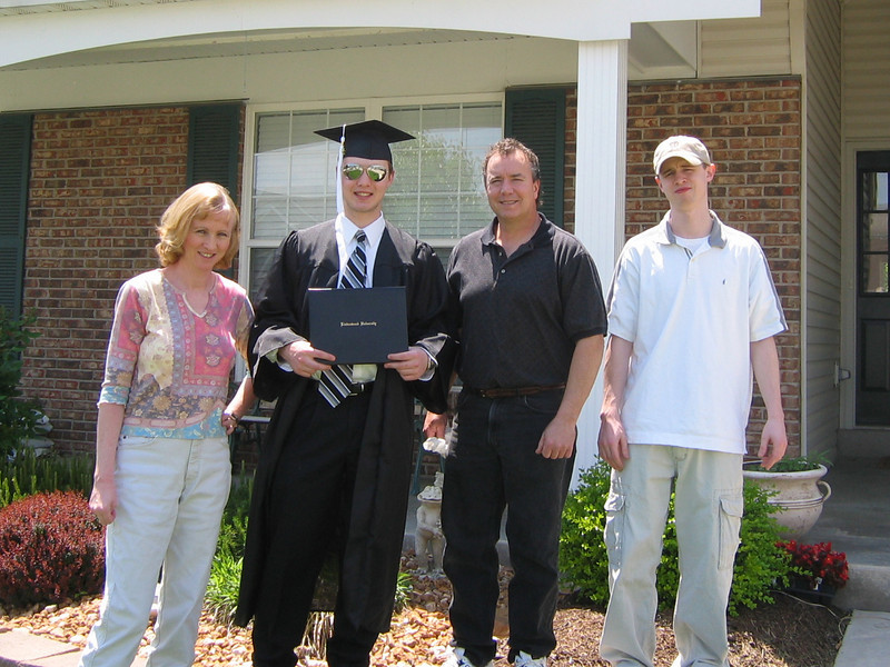 Graduation from Lindenwood University