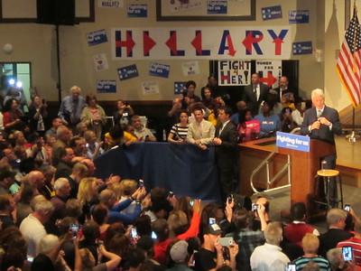 Bill Clinton Speaking at Hillary Clinton Rally