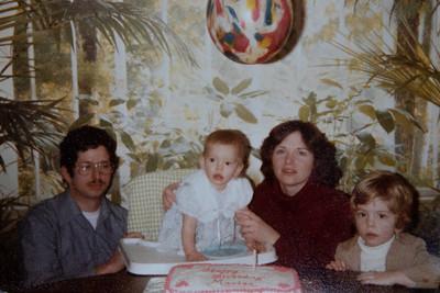 Marisa's 1st birthday 1982