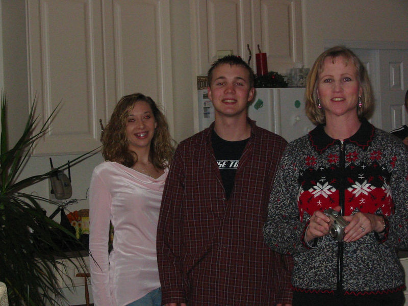 <big>Brittany, Jay & Jackie</big><BR> Christmas Eve 2005