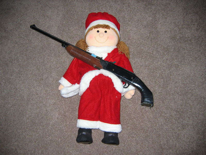 <big>Santa Girl Taken Hostage</big><BR> December 2005