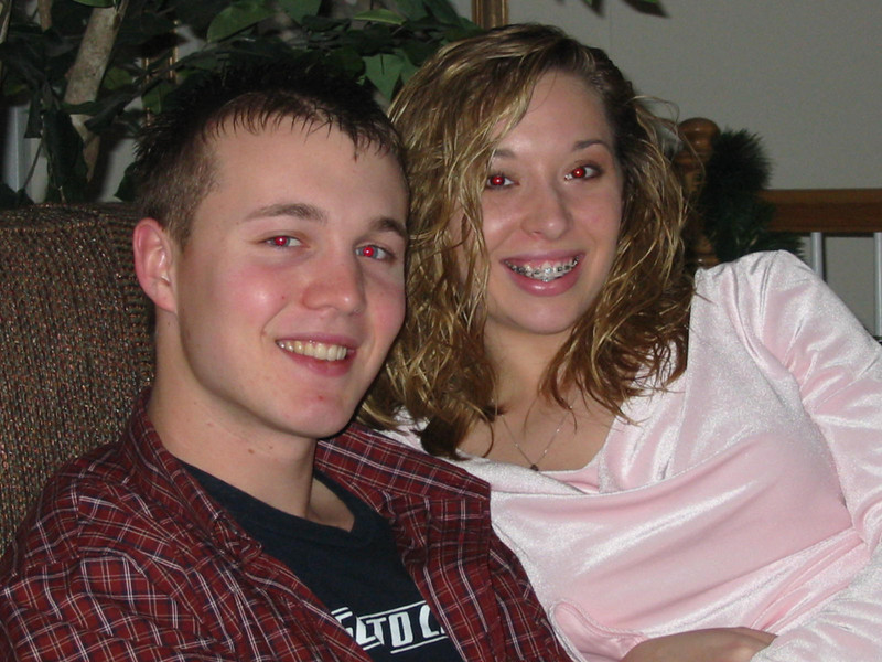 <big>Brittany & Jay</big><BR> Christmas Eve 2005