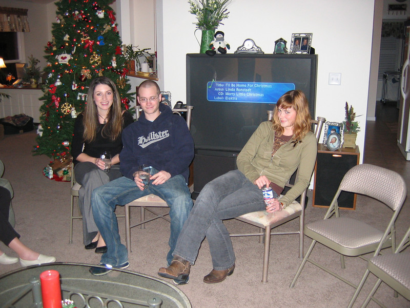 <big>Amanda, Jimmy & Whitney</big><BR> Christmas Eve 2005