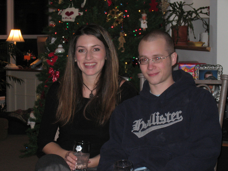 <big>Amanda & Jimmy</big><BR> Christmas Eve 2005