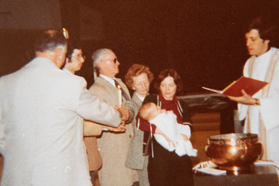 Christopher's Christening Day 1978