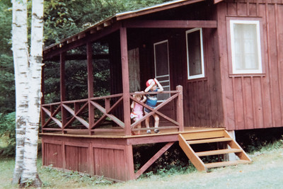 Rental Cabin in Lake George 1983