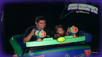 Buzz Lightyear Spin Ride