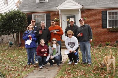 The 2010 Thanksgiving 5k Scavenger Hunt begins