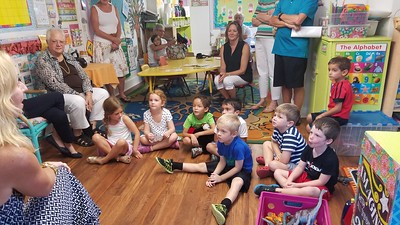 Grandparent's Day - Kindergarten 2016