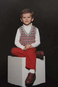 Michael 5 yrs old   1989