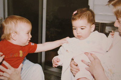MIchael 1 year- Alaina 6 months