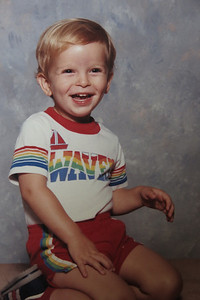 Michael 2 yrs old   June 1986