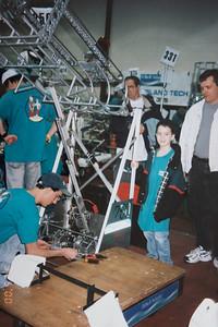 Robotics Competition at EPCOT 2000