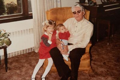 Marisa, Michael & Grandpa Jack 1984