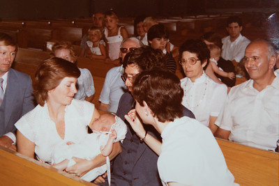 Michael's Christening Day 1984