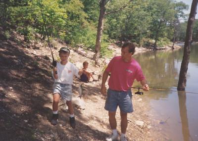 Fishing at Mark Twain Lake