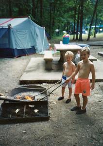 Camping at Mark Twain Lake