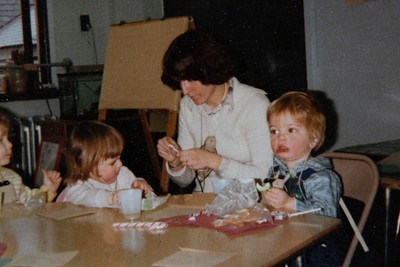 Christmas party at school 1979