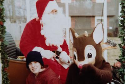 Santa's Visit 1983