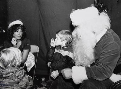 Visit with Santa 1983