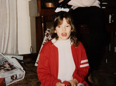 Marisa - Christmas 1989