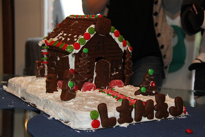 2012 Gingerbread House