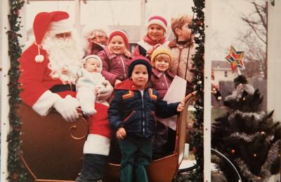 Santa's Visit 1984