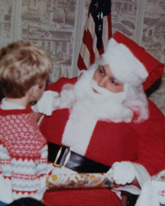 Visit with Santa 1984