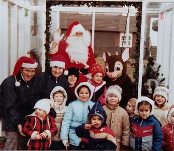 Santas Visit 1985