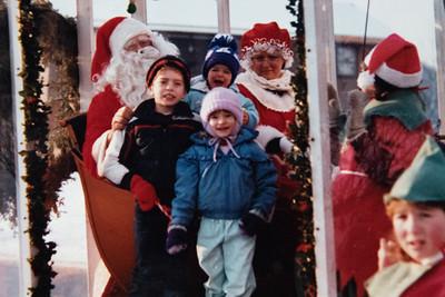 Santa's Visit 1985