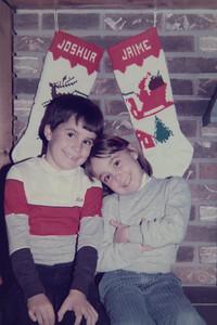 Josh & Jamie Kean 1985