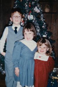 Kevin, Lisa & Laura Ricciardelli 1985