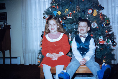 Kelly & Kevin McCarthy ~ Christmas 1988