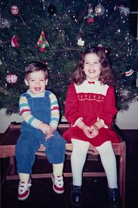 Christmas 1986 ~ Kevin & Kelly McCarthy