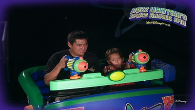 Buzz Lightyear Spin Ride