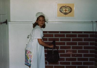 Visiting Amish Village 1988