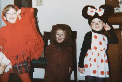 Marisa, Michael & Becky 1986