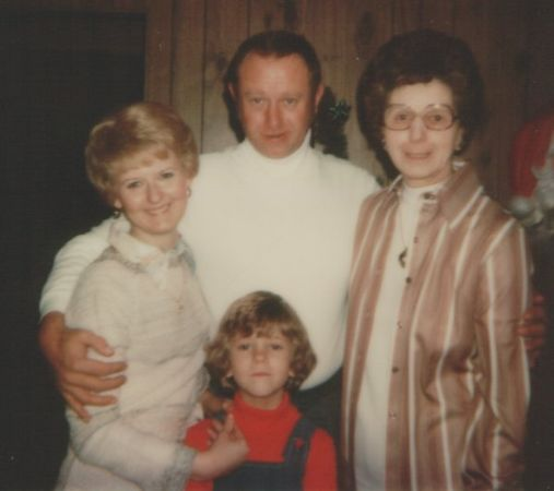 A very old picture of my family. Probably dates from around the mid-70s or so.