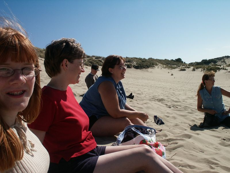 At the dunes, Florence, OR.