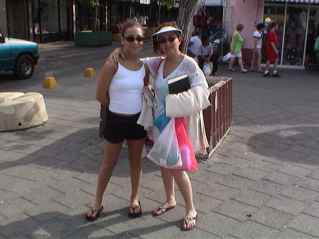 Rose and Jen, Williametta, Curocoa, Dutch West Indys