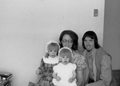 1970's Heather, Judith, Robert and Alicia