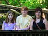 Emily, Tali & Leire, our family guest from Spain in the summer of 2006.