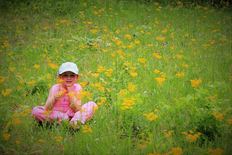 Josie at Age Five