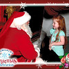 Josie and Santa Christmas 2014