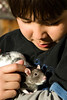 Austin and his rat.