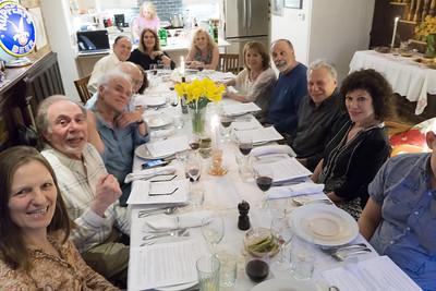 Our Seder. No 2 view.