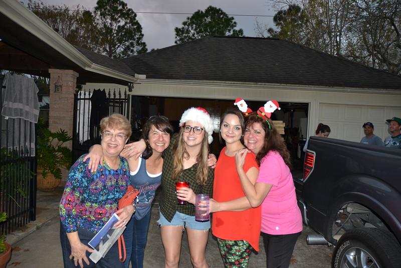 Nila, Patricia, Alexis, Amanda and Michelle
