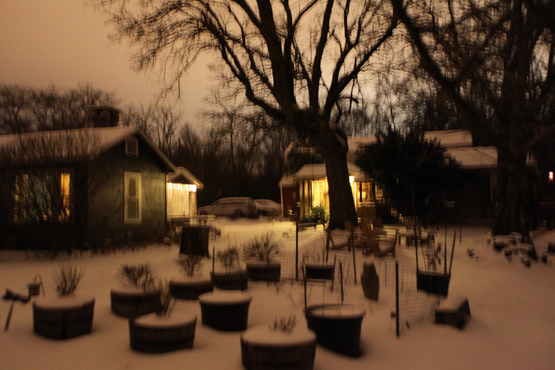 "We had our 3rd snow this winter, 4"" and the city when crazy.The south and snow don't mix well.Jan 29 2010 9PM"