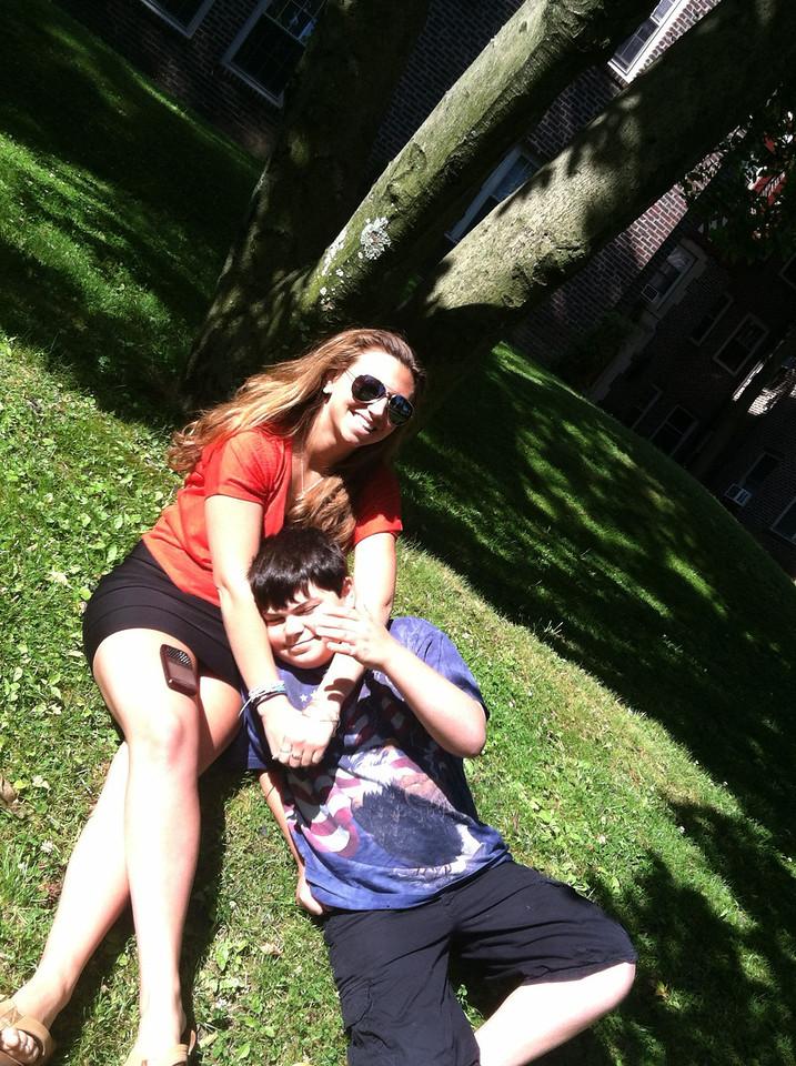 RJ and Kayla @ Villanova
